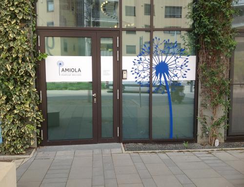 Amiola Eingangsbranding