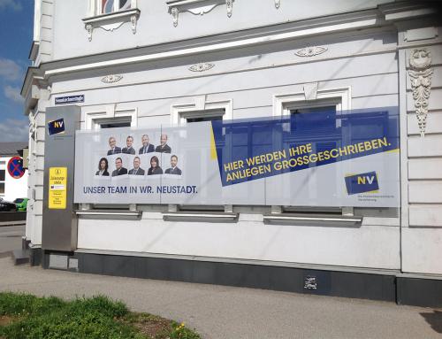 Niederösterreichische Versicherung Filialenbranding 2021